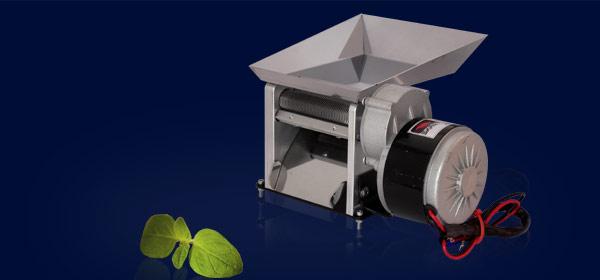 Mała elektryczna maszynka do cięcia liści tytoniu