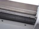 ostrza wałków maszynki do cięcia liści tytoniu  model 160 1,1 V2 na łożyskach z zsypem